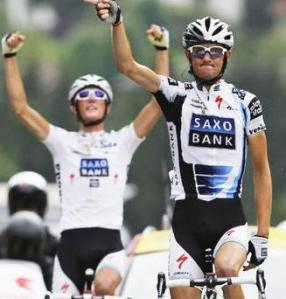 Frank & Andy Schleck